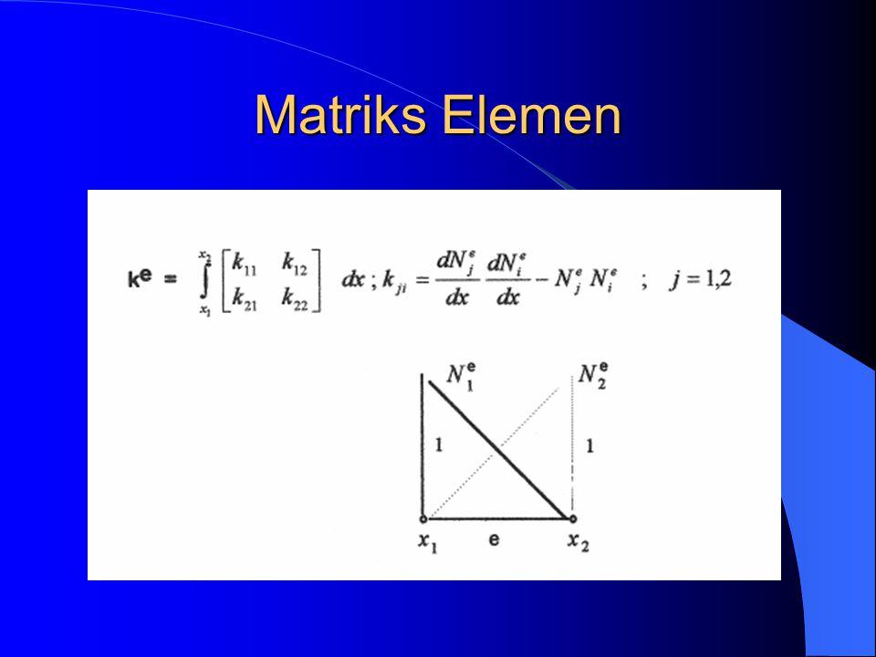 Matriks Elemen