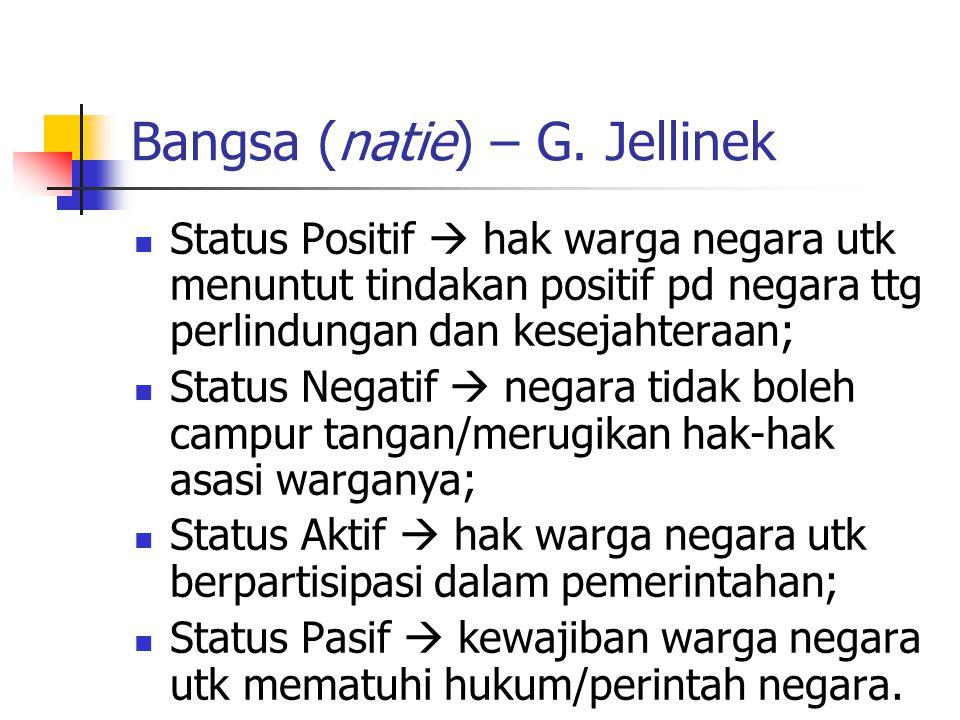 Bangsa (natie) – G.