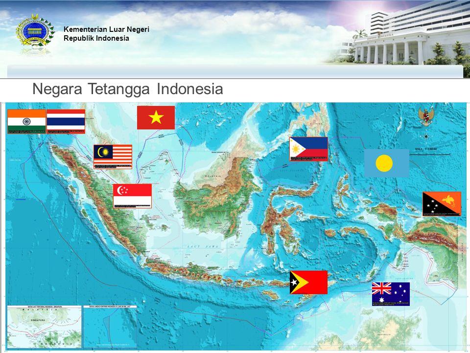 Negara Tetangga Indonesia Kementerian Luar Negeri Republik Indonesia
