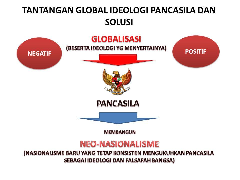 TANTANGAN GLOBAL IDEOLOGI PANCASILA DAN SOLUSI NEGATIF POSITIF