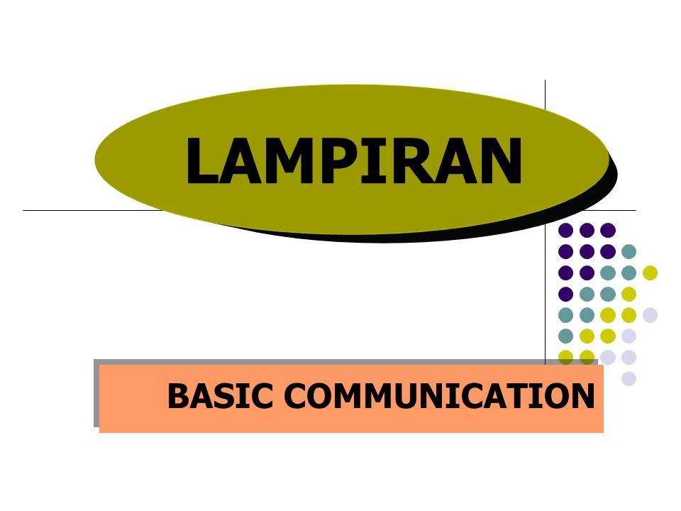 Komunikasi Apakah KOMUNIKASI itu ? Adalah proses mengirim dan menerima pesan.