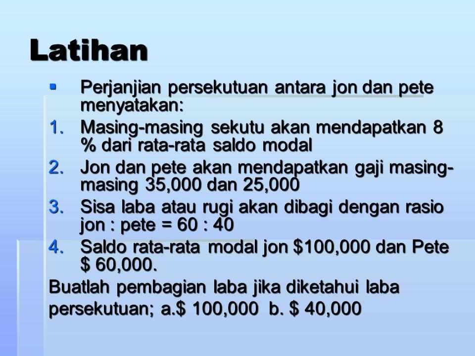LABA – RUGI DIBAGI BERDASARKAN BONUS Lazimnya bonus diberikan kepada sekutu pengelola ( aktif ) yang dinyatakan dalam persentase. Metodenya : Bonus da
