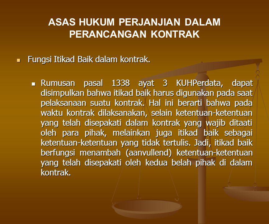 Hukum Perjanjian (Kontrak)