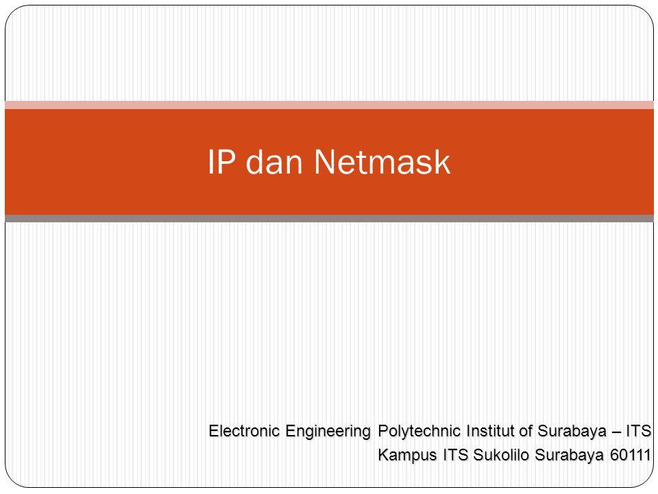 Jangkauan Network ID Class C dimungkin ada 254 komputer yang bisa terhubung ke jaringan Misal 192.168.16.0 Maka host bisa diberi nomor IP 192.168.16.1 – 192.168.16.254 Nomor terakhir yaitu 192.168.16.255 disebut broadcast Network Host 8 bits