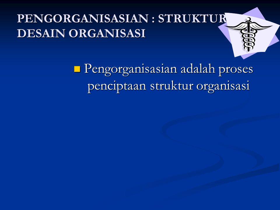 Faktor-faktor yang mempengaruhi besarnya sentralisasi dan desentralisasi Lebih tersentralisasi Lebih terdesentralisasi 1.