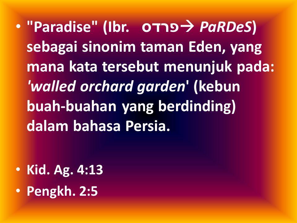 Paradise (Ibr.