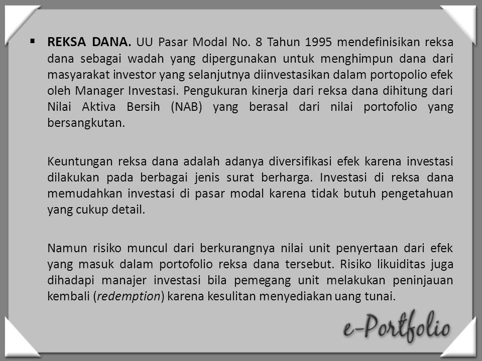 REKSA DANA.UU Pasar Modal No.