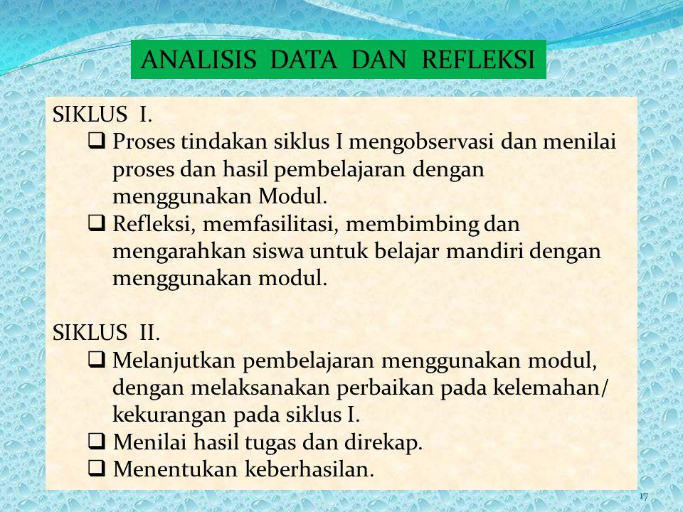 IV LAPORAN HASIL PENELITIAN Deskripsi Data Penelitian IV LAPORAN HASIL PENELITIAN Deskripsi Data Penelitian Sajian data siklus I.  Ketersediaan fasil
