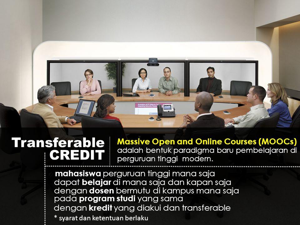 Model MOOCs (generik) OPEN COURSE Application Kampus A Kampus B Kampus C Kampus D di Rumah Belajar