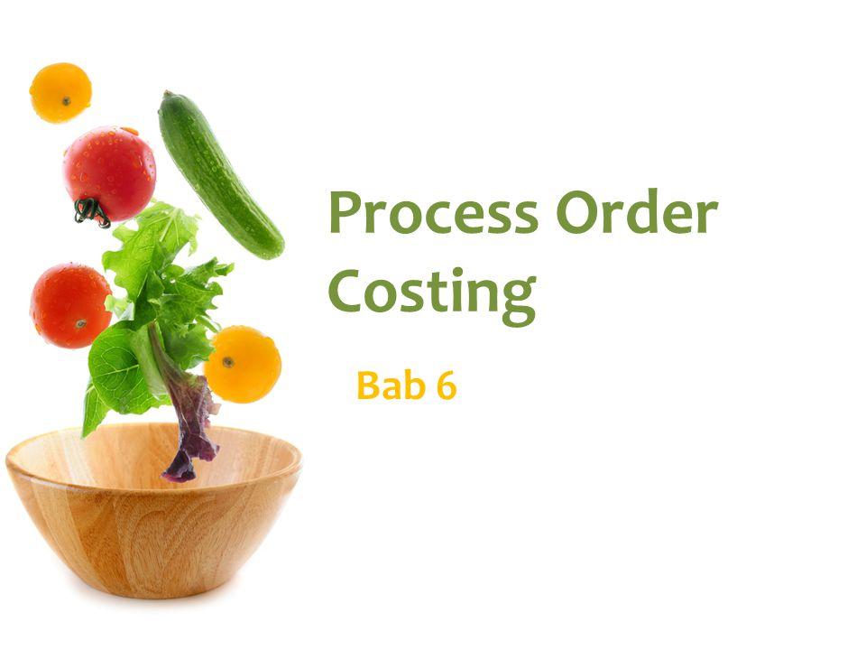 Akumulasi Biaya Proses Job Order Costing  Produk dipertanggungjawabkan dalam batch.
