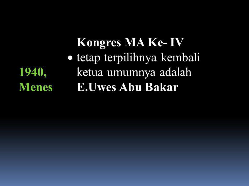 K. H. E.UWES ABU BAKAR.