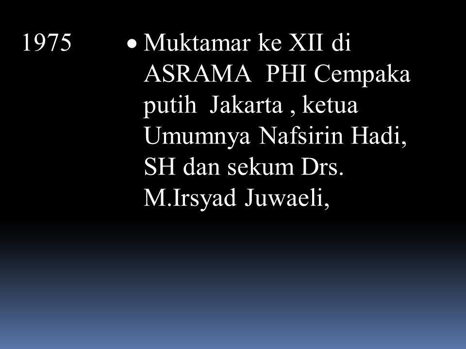 September 1966  Muktamat ke XI dan HUT MA ke-50, di menes  Terpelihnya kembali K.H. Uwes Abu Bakar sebagai Ketua Umum periode 1966-1969 dan Adam seb
