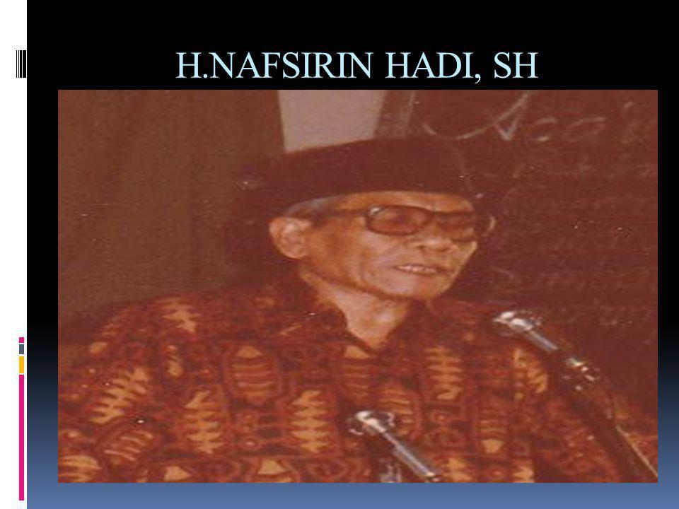 1975  Muktamar ke XII di ASRAMA PHI Cempaka putih Jakarta, ketua Umumnya Nafsirin Hadi, SH dan sekum Drs.