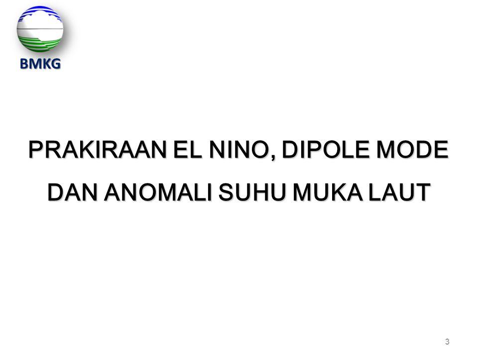 3 3 PRAKIRAAN EL NINO, DIPOLE MODE DAN ANOMALI SUHU MUKA LAUT BMKG