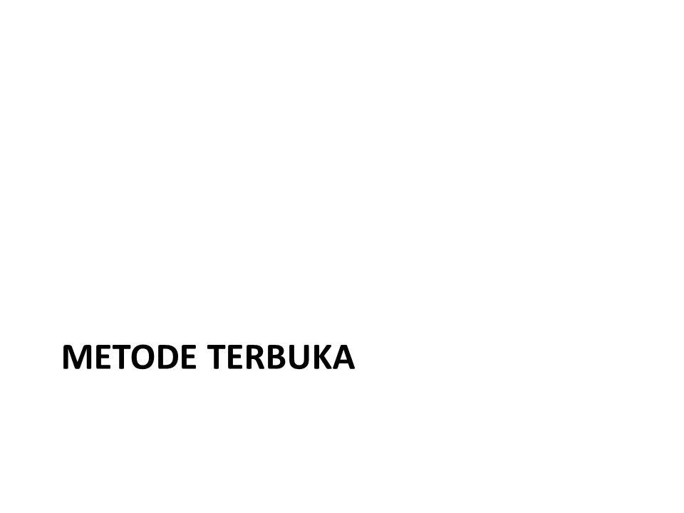 METODE TERBUKA