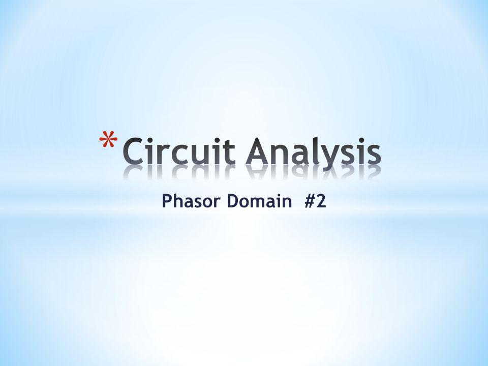 Phasor Domain #2