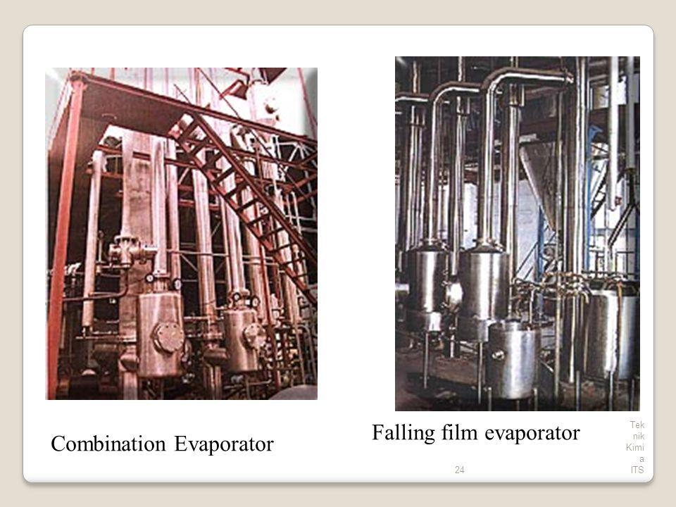 24 Tek nik Kimi a ITS Falling film evaporator Combination Evaporator