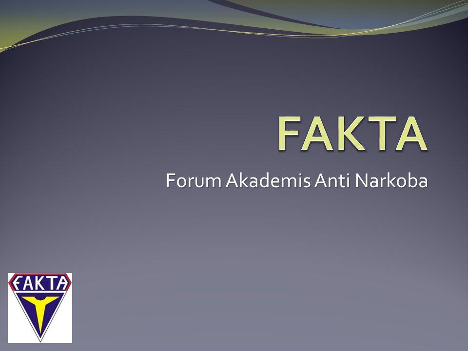  Lambang FAKTA berbentuk perisai artinya FAKTA adalah suatu organisasi yang kuat dan kokoh, yang selain sebagai Forum Akademis Anti Narkoba, juga organisasi yang membantu sekolah dalam rangka menertibkan peraturan.