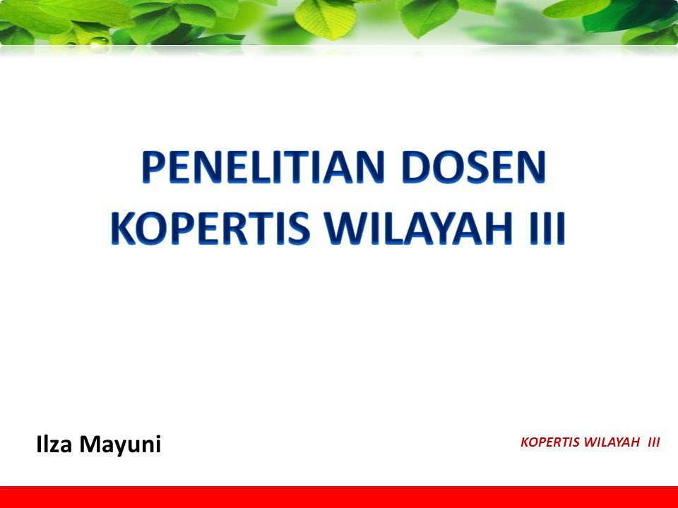KOPERTIS WILAYAH III Ilza Mayuni