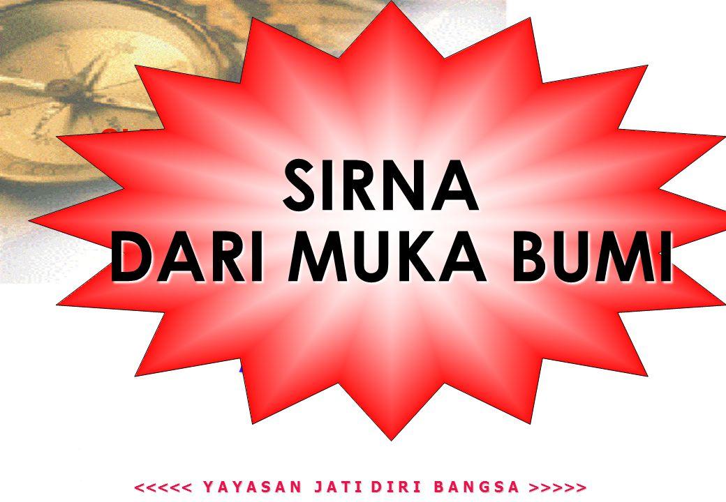 >>>> >>>> INDONESIA PERNAH MEMBUKTIKAN HAL INI : 1908 KEBANGKITAN NASIONAL 1928 1928 SUMPAH PEMUDA 1945 PROKLAMASI KEMERDEKAAN 2007  2007  APA JADINYA SEKARANG .