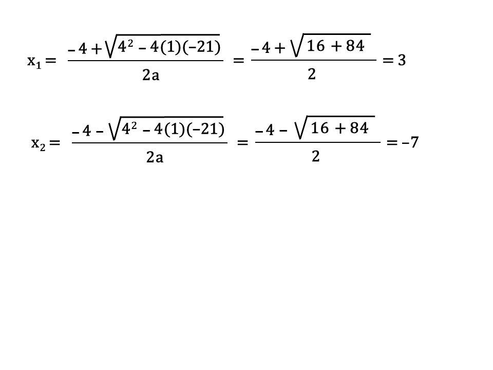 Fungsi kuadrat adalah fungsi polinomial yang mempunyai derajad dua dan bentuknya adalah : y = ax 2 + bx + c, dimana a, b dan c adalah bilangan-bilangan ril, a  0, x adalah peubah bebas dan y peubah tak bebas.