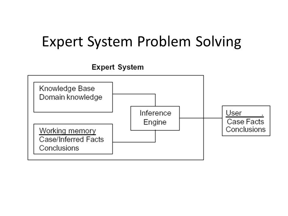 Expert System Problem Solving