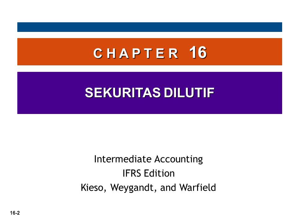 16-3 Liabilitas dan Ekuitas Opsi Saham (Waran) Sekuritas Konversi Saham Preferen Instrumen keuangan berikut ini dilaporkan sebagai Laibilitas atau ekuitas?.