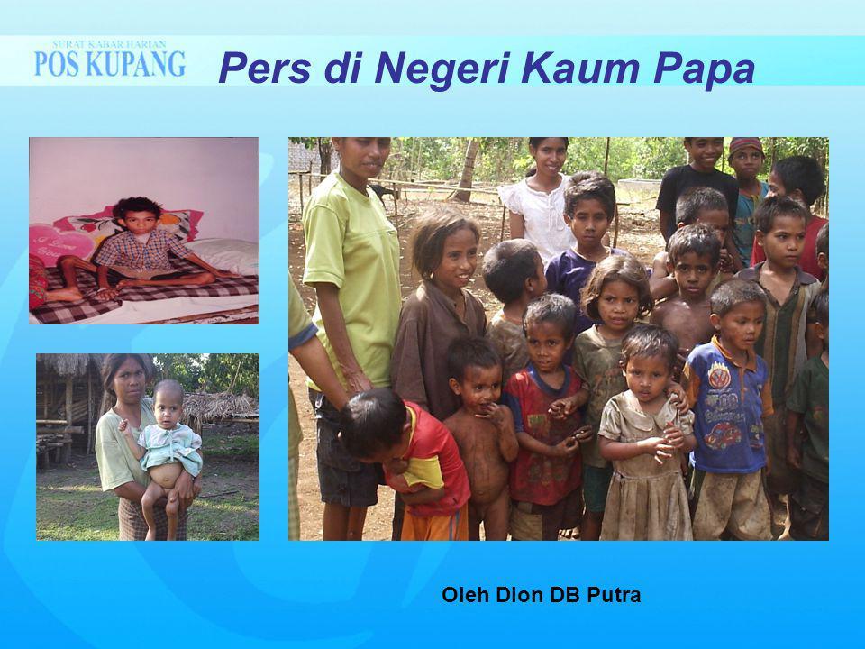 Pers di Negeri Kaum Papa Oleh Dion DB Putra