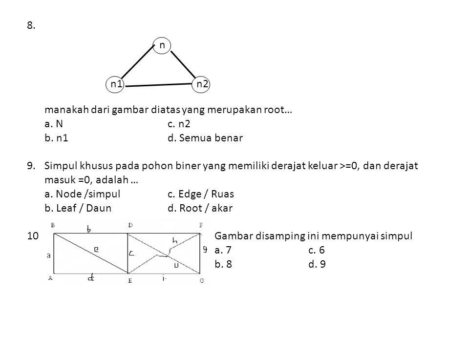 6.Rumus Searching Fibonancy adalah sebagai berikut… a.