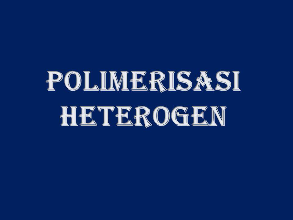Polimerisasi emulsi saat ini banyak dimanfaat- kan secara komersial untuk memproduksi ber- bagai jenis polimer.