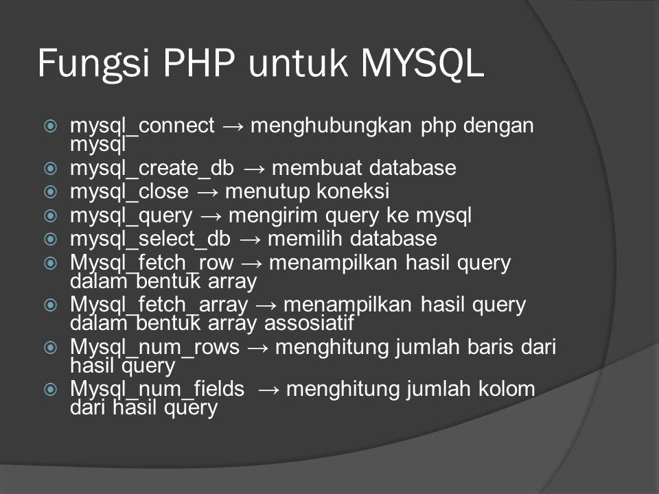 Daftar Pustaka Panduan Membuat Aplikasi Database dengan PHP, Syafii, Yogyakarta, Andi Offset, 2005 Membangun Website Dinamis dan Interaktif dengan Ms.
