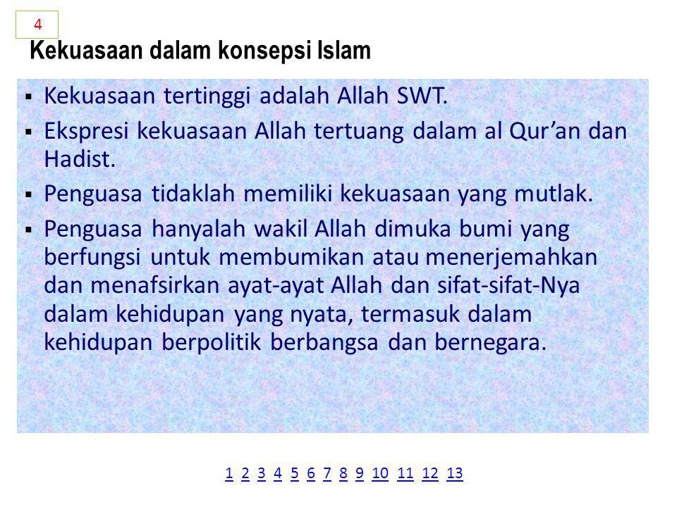 Pokok-pokok fiqih siyasah meliputi:  Siyasah Dusturiyyah, berisi tata negara dalam islam.  Siyasah Dauliyyah, politik yang mengatur hubungan antara