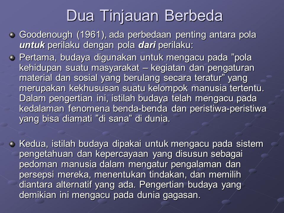 Alat Ukur Budaya?.
