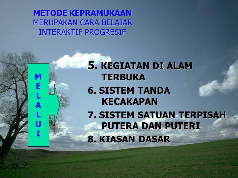 METODE KEPRAMUKAAN MERUPAKAN CARA BELAJAR INTERAKTIF PROGRESIF 5.