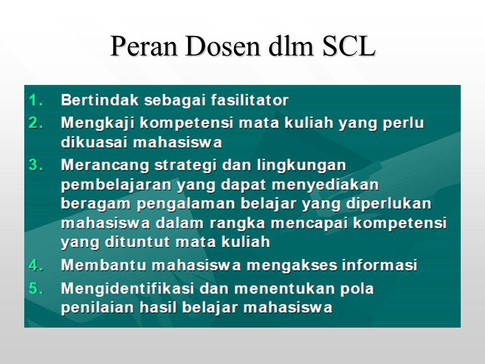 Peran Dosen dlm SCL
