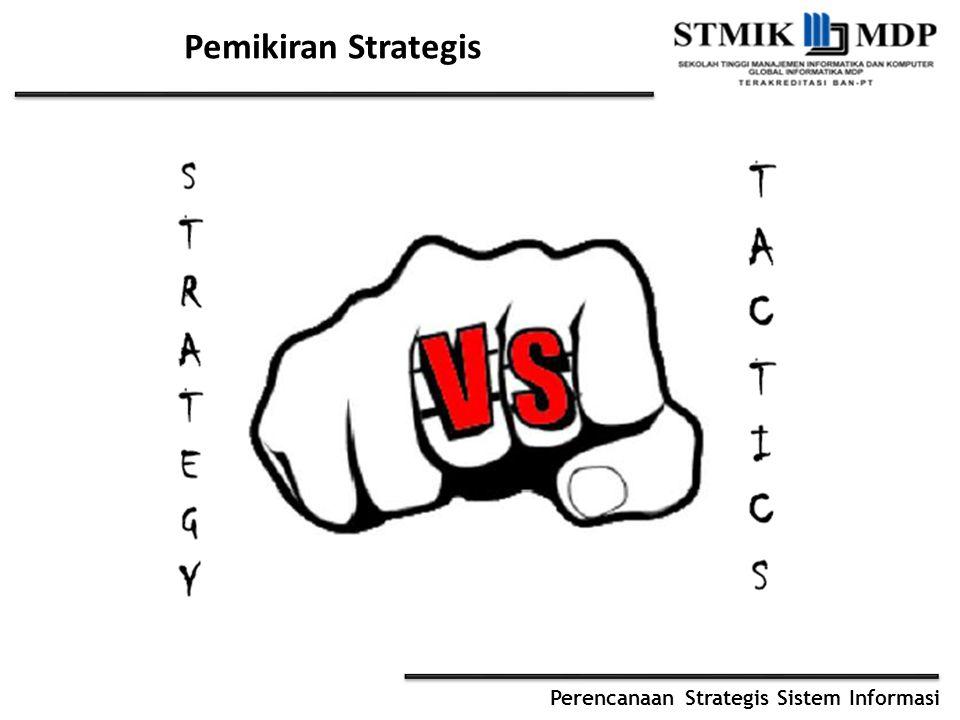 Perencanaan Strategis Sistem Informasi Pemikiran Strategis