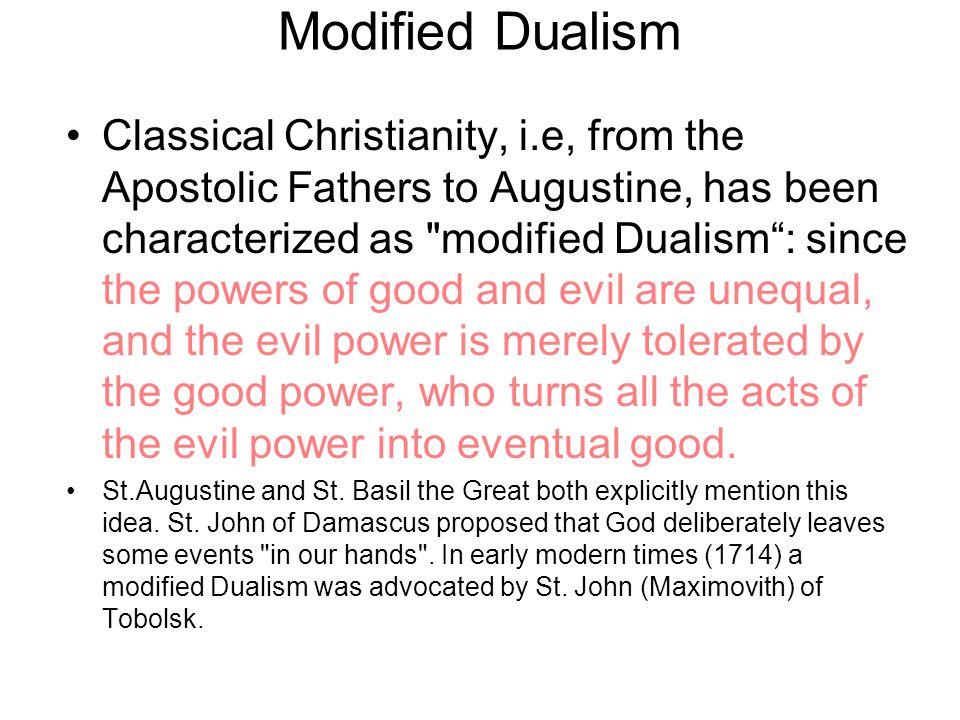 Tugas teodisi menunjukkan bahwa kenyataan kejahatan cocok dan timbul dari penciptaan dan pemeliharaan Allah, yang sifat-Nya sempurna.