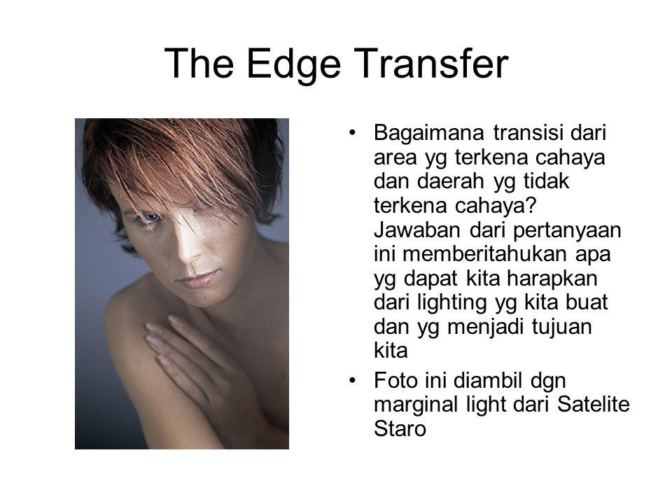 The Edge Transfer Bagaimana transisi dari area yg terkena cahaya dan daerah yg tidak terkena cahaya.