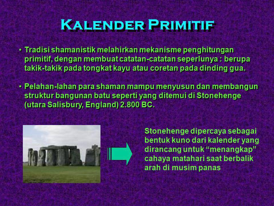 Tradisi Shamanistik  Awal dari sains modern ( Sains Komputer ) telah dimulai jauh sejak zaman purba.