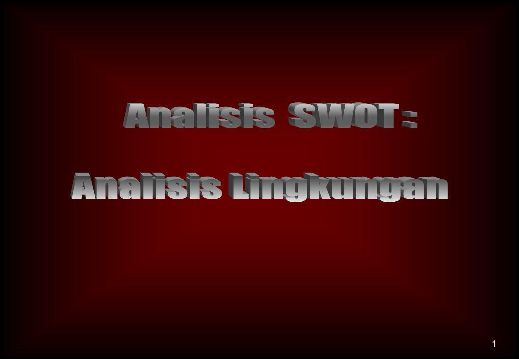 Analisis LINGKUNGAN INTERNAL: 1.
