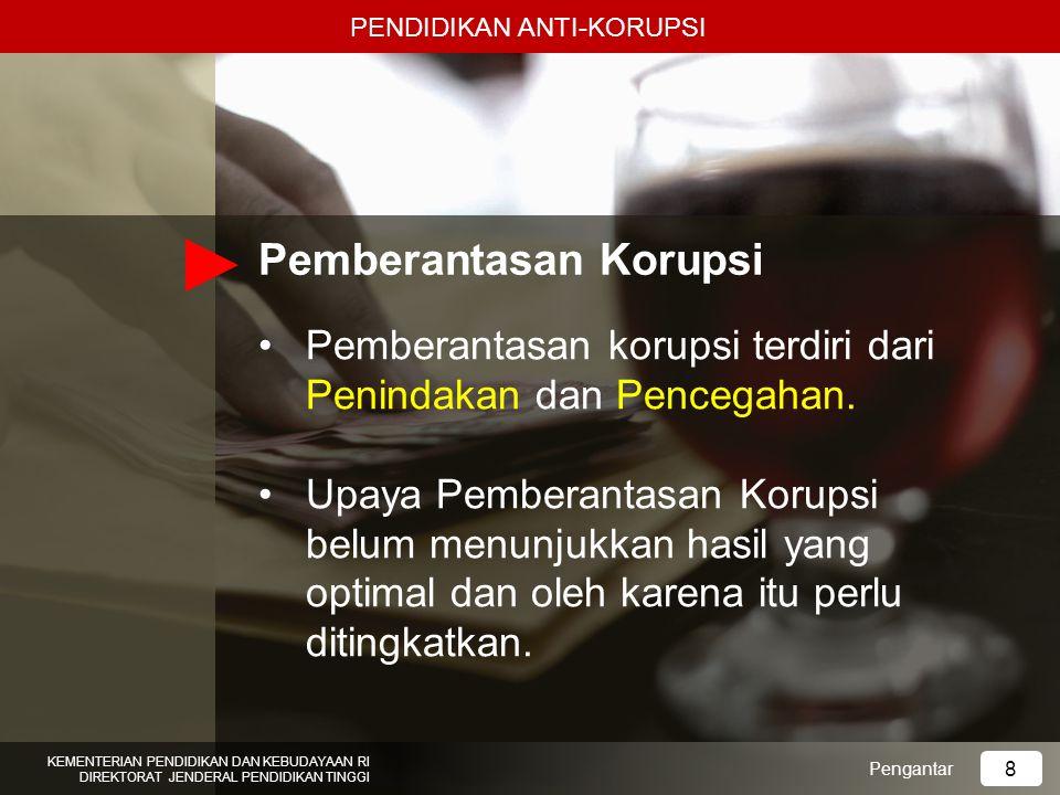 1.Mahasiswa mampu menjelaskan gerakan-gerakan internasional pencegahan korupsi; 2.Mahasiswa mampu menjelaskan kerjasama-kerjasama internasional pencegahan korupsi; 3.Mahasiswa mampu menjelaskan beberapa instrumen internasional pencegahan korupsi; 4.Mahasiswa mampu membandingkan kelemahan- kelemahan dan kelebihan- kelebihan pemberantasan korupsi di negara lain; 5.Mahasiswa mampu menjelaskan arti penting ratifikasi Konvensi Anti Korupsi bagi Indonesia.