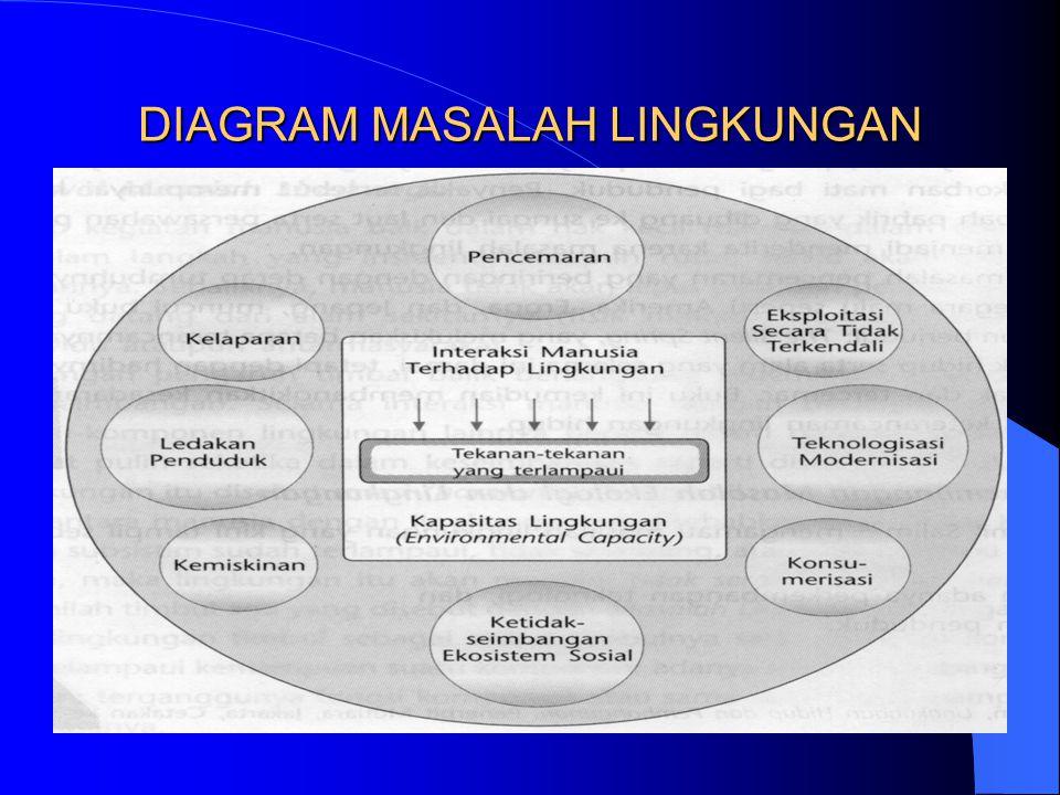 DIAGRAM MASALAH LINGKUNGAN