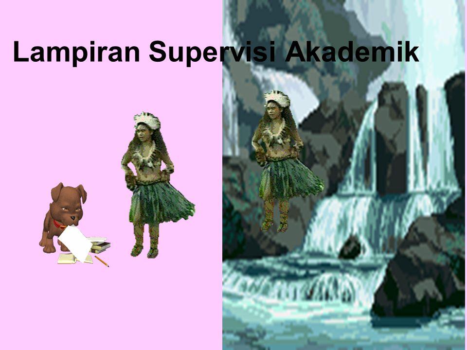Lampiran Supervisi Akademik