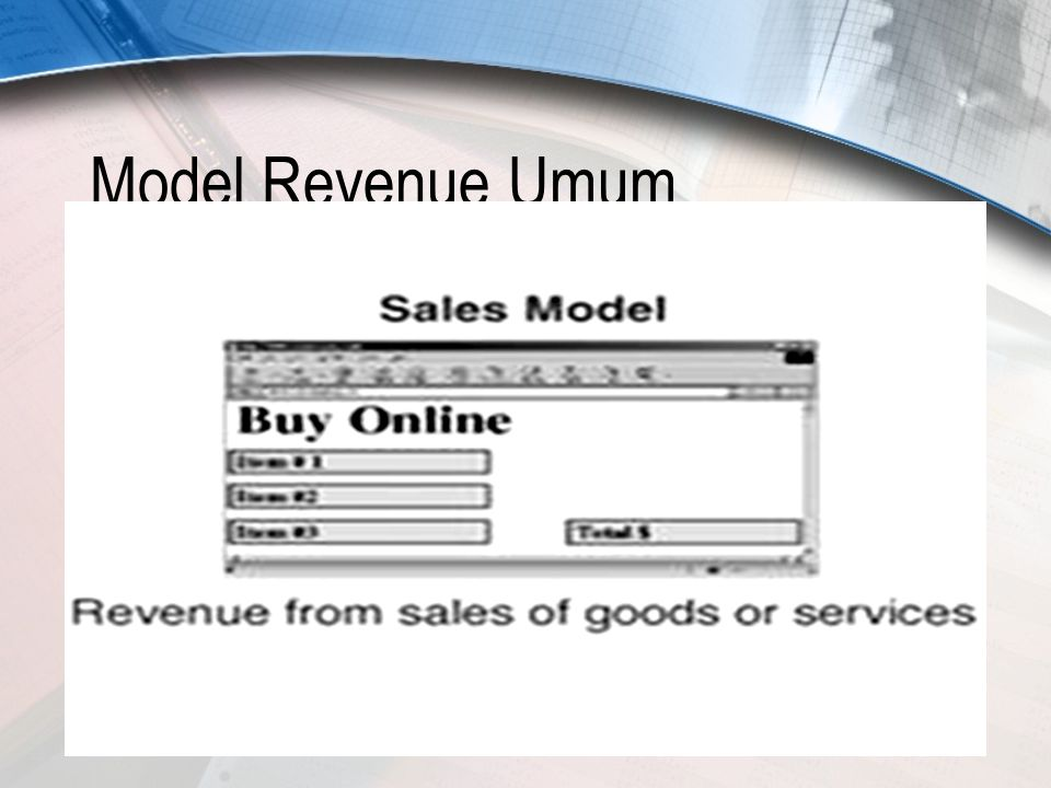 12 Model Revenue Umum