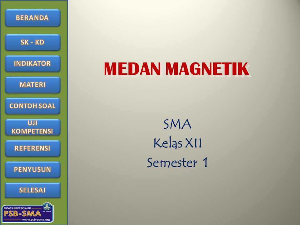 Uji Kompetensi 1.Gaya yang dialami kawat berarus yang berada dalam medan magnet disebut….