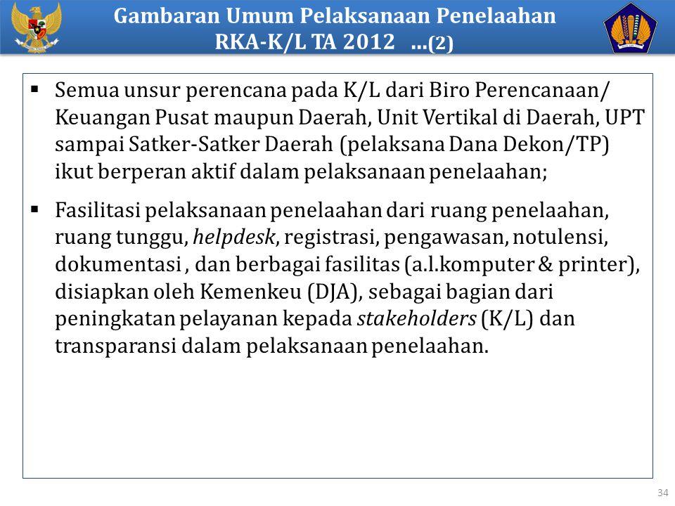  Semua unsur perencana pada K/L dari Biro Perencanaan/ Keuangan Pusat maupun Daerah, Unit Vertikal di Daerah, UPT sampai Satker-Satker Daerah (pelaks