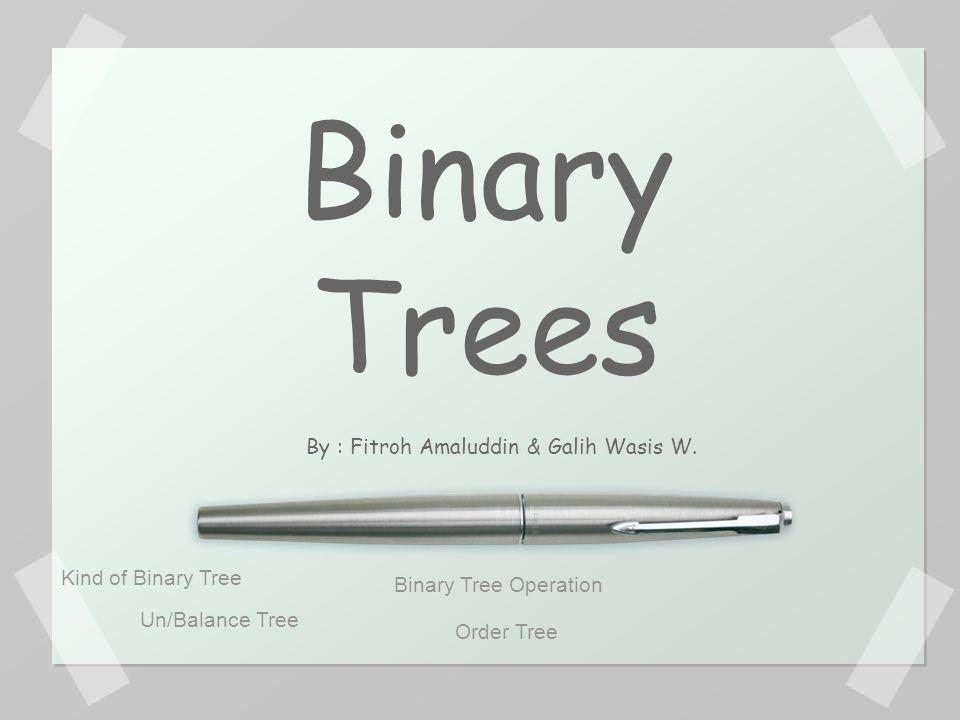 Tree adalah sebuah struktur data yang secara bentuk menyerupai sebuah pohon, yang terdiri dari serangkaian node (simpul) yang saling berhubungan.