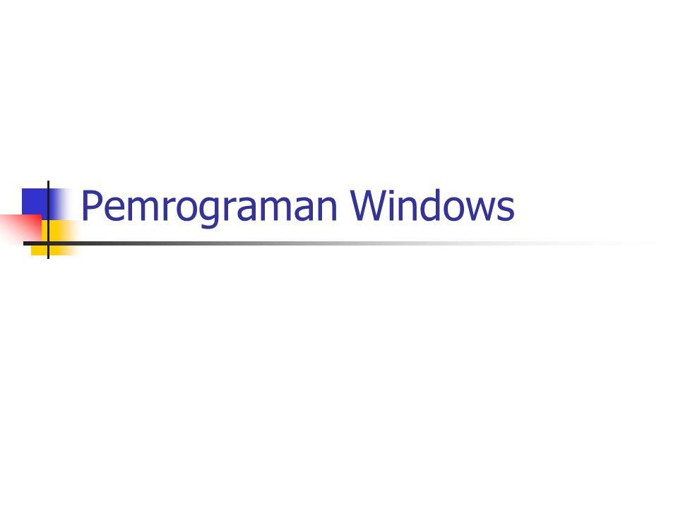 Pemrograman Borland Delphi Initialization dan Finalization Initialization adalah bagian yang dijalankan ketika aplikasi atau library dipanggil ke memory Finalization adalah bagian yang akan dijalankan ketika keluar dari aplikasi atau ketika library dibuang dari memory Konstanta Konstanta adalah identifier yang bersifat tetap selama program berjalan.