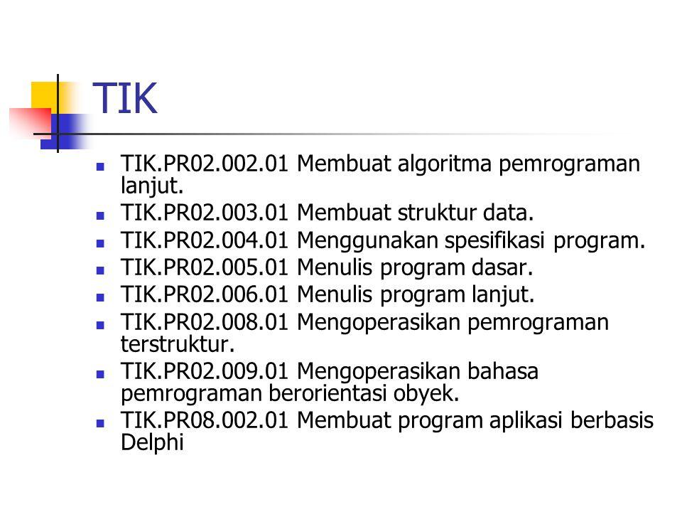 TIK TIK.PR02.002.01 Membuat algoritma pemrograman lanjut.