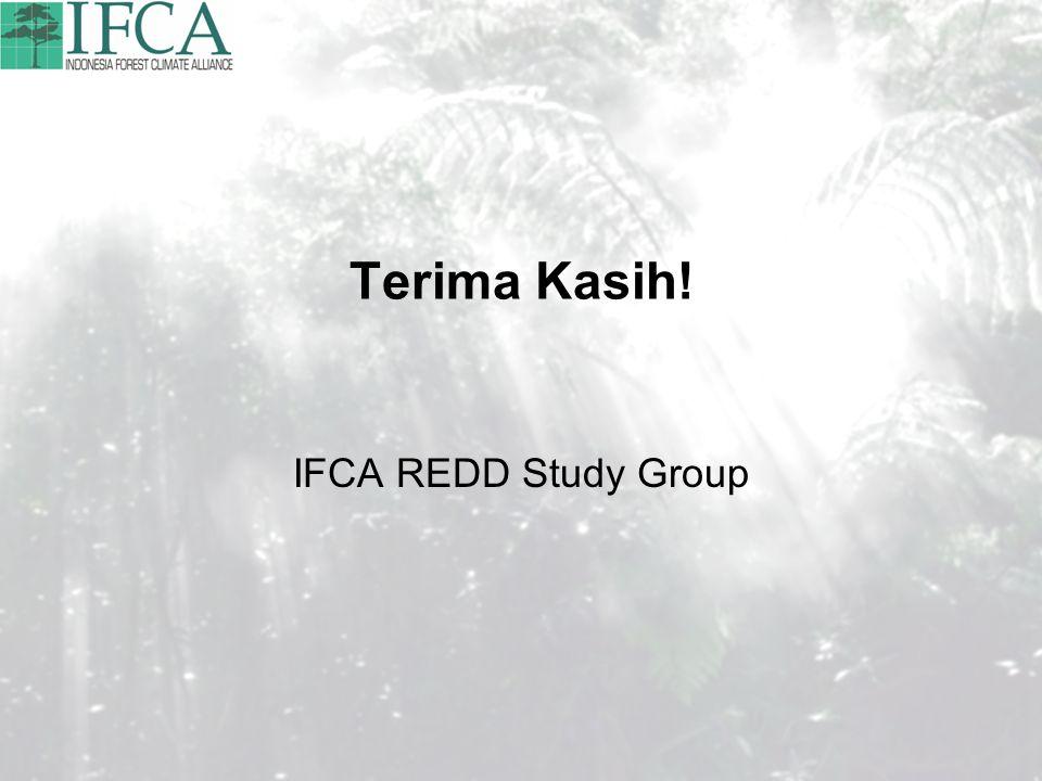 Terima Kasih! IFCA REDD Study Group